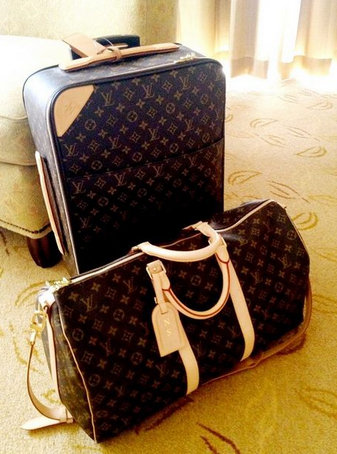 Louis Vuitton Luggage | The Jetset Barbie